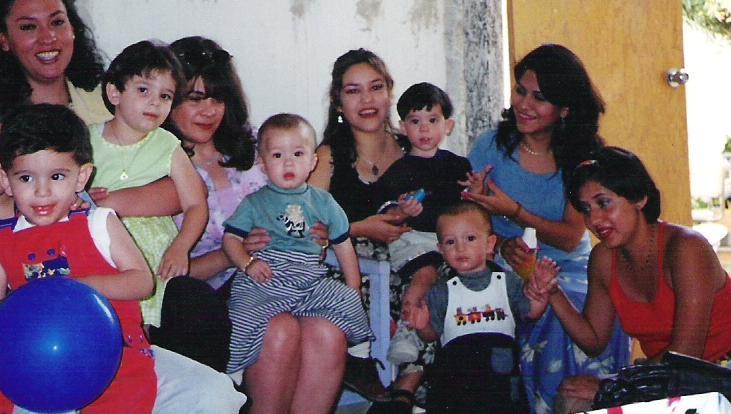 Una fiesta infantil en casa de Paty Villa 1998 Martha Magallanes