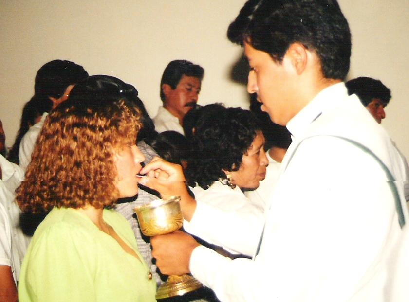 Comunión Martha Magallanes